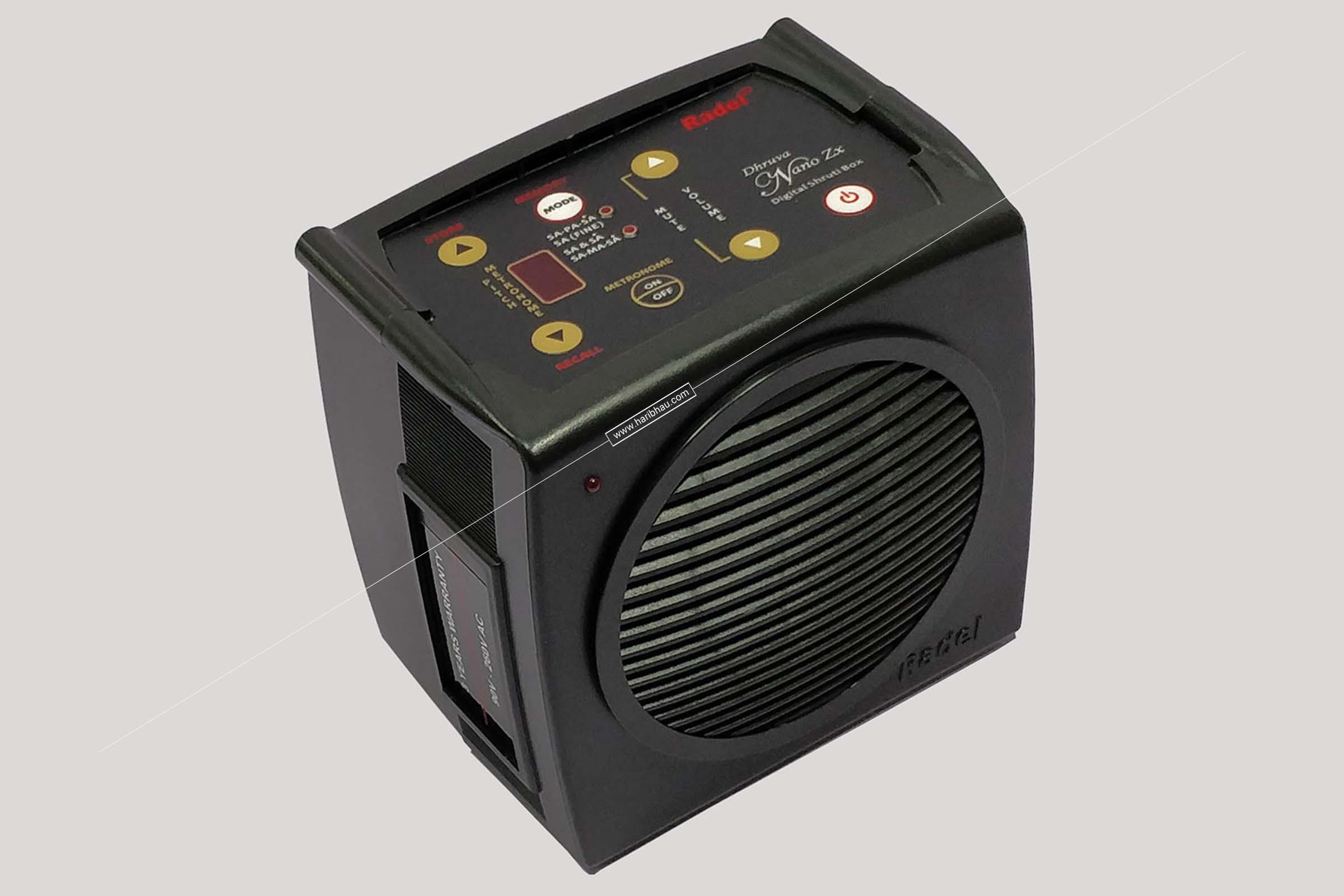 Radel Dhruva Nano ZX Electronic Sruti Box Small Size